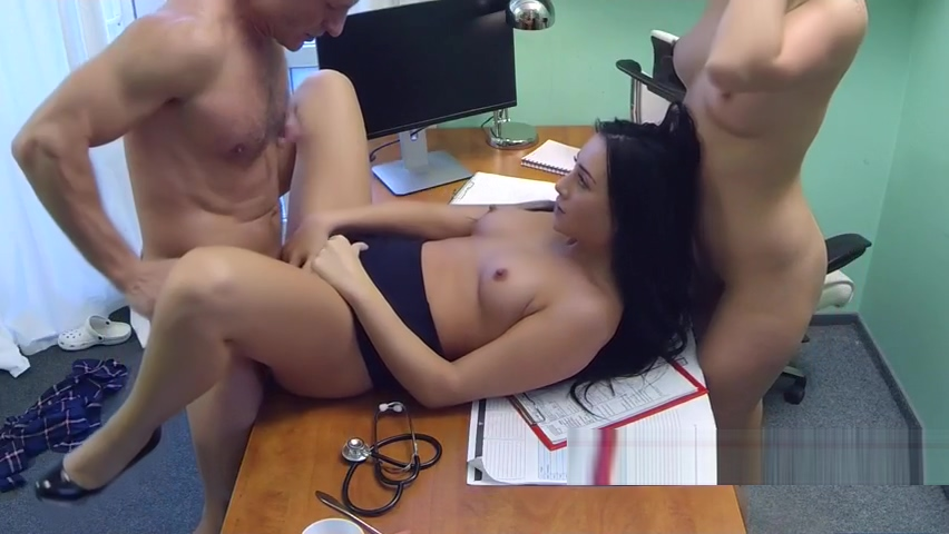 Threesome with female and male doctors Eriq ebouaney wife sexual dysfunction