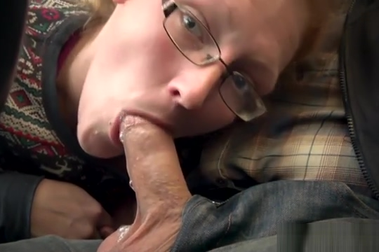 Redhead MILF Ivy Sucking Off Hubby In Public Parking Lot