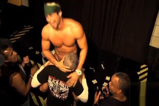 Franco does some strip Teen crossdresser