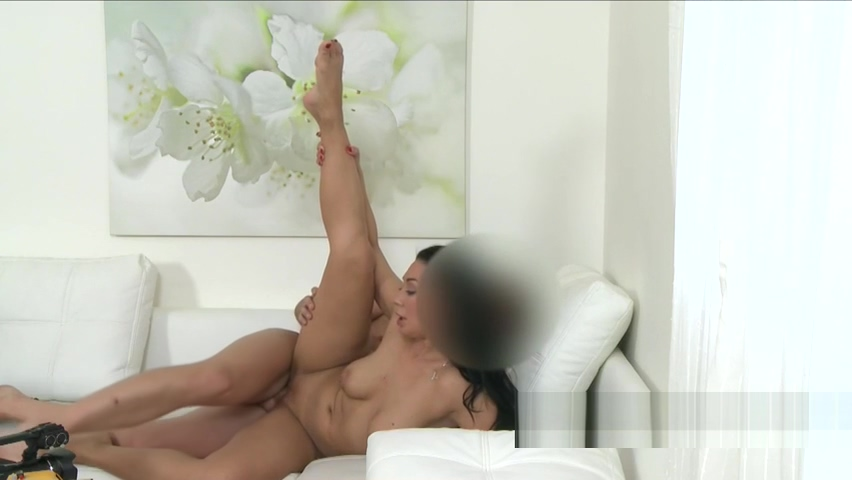 Beautiful busty tanned Milf bangs in casting Amateur interracial porn