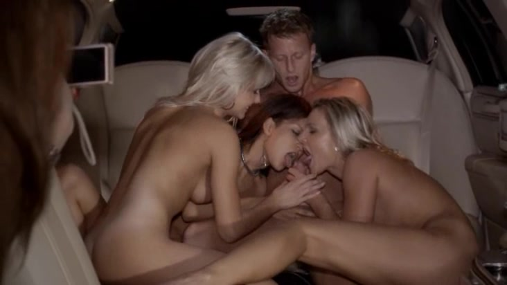 cute group sex in limo Cover feturing a naked