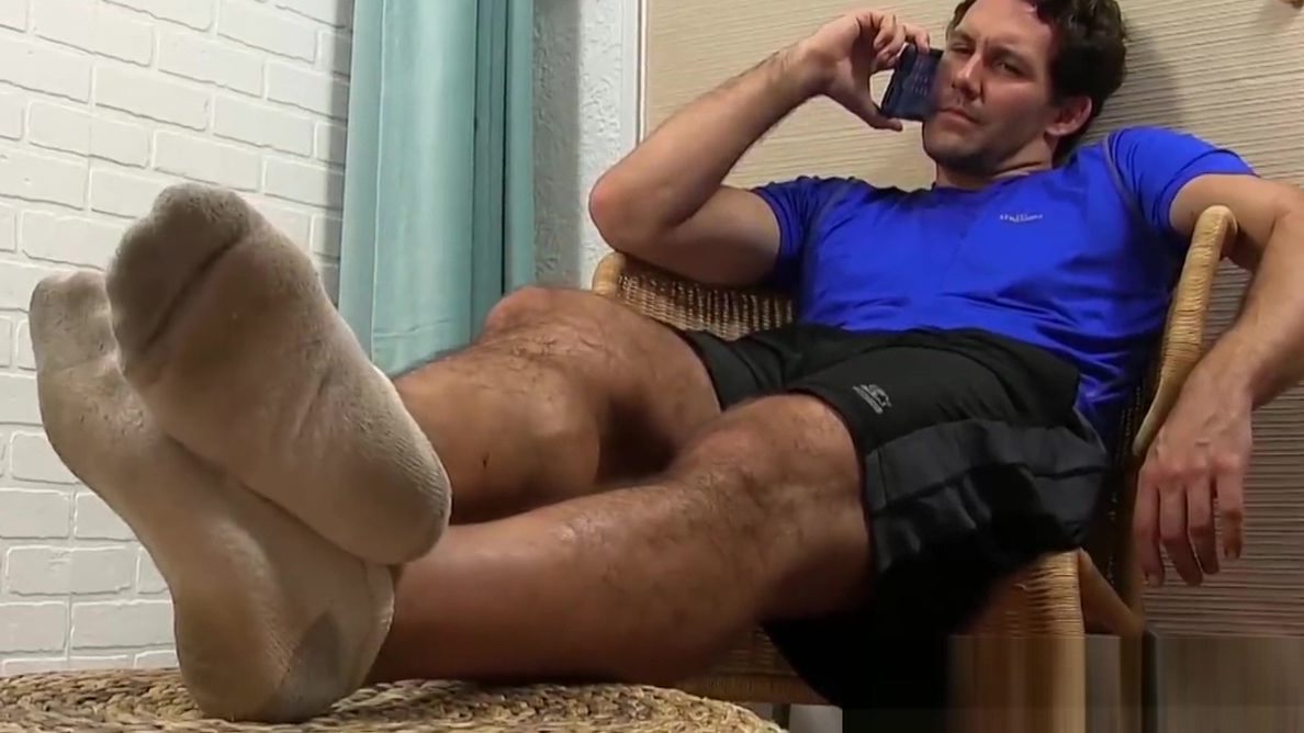 Attractive hunk plays around with feet and massages them cartoon sexy videos com