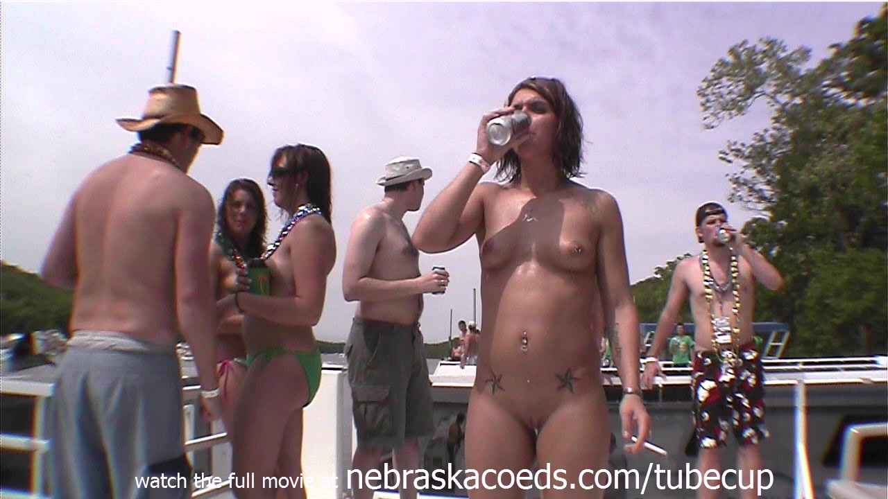 5 girls licking whipped cream off of pussies