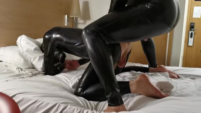 Having some serious rubber fun with a very good friend video porno jepan bokep video