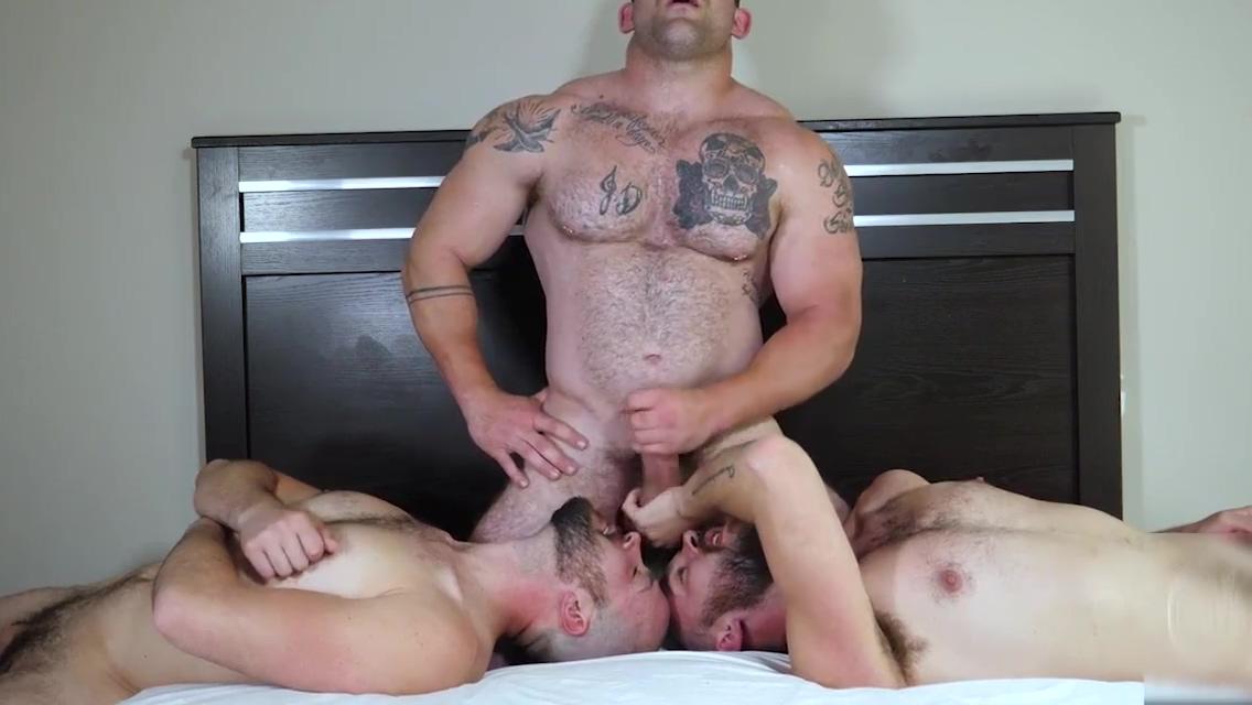 2 twinks and 1 bear Codi Bryant Cum Catcher