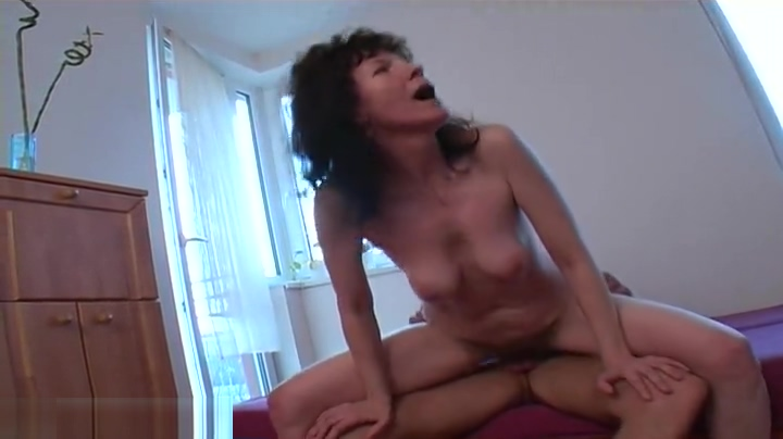 Delightful hairy mature lady