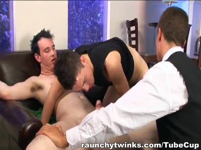 RaunchyTwinks Video: Brians First Threesome home loan interest rates india