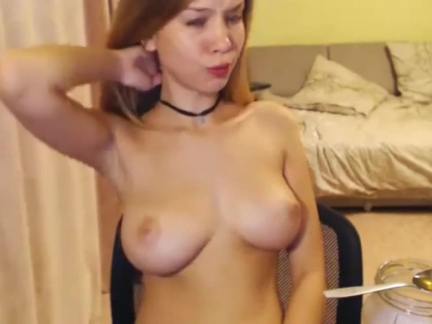 Perfect young russian babe mastrubate on camera Female Domination