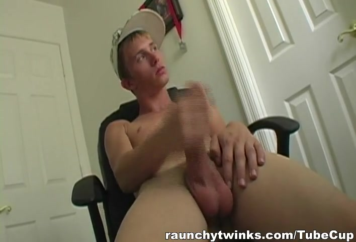 RaunchyTwinks Video: Caden Skie watches porn shemales fucking shemales videos