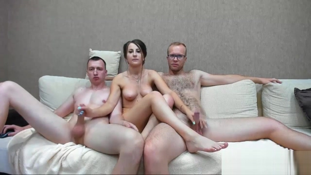 Slutty brunette MILF and two horny guys live at sexycamx Fuck my sleeping wife tubes