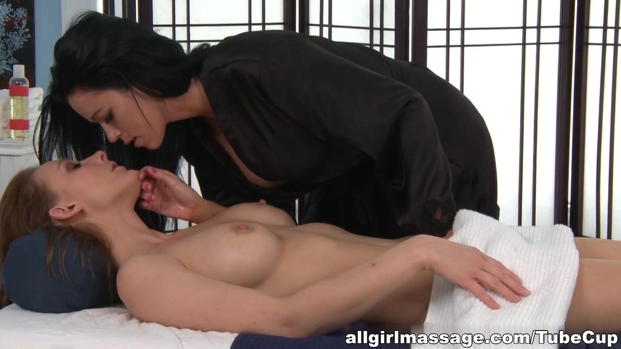 Shower hot in lesbian sex
