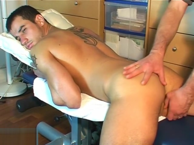 Dick and ass massage by 2 guys to an innocent delivery guy Perth pussy