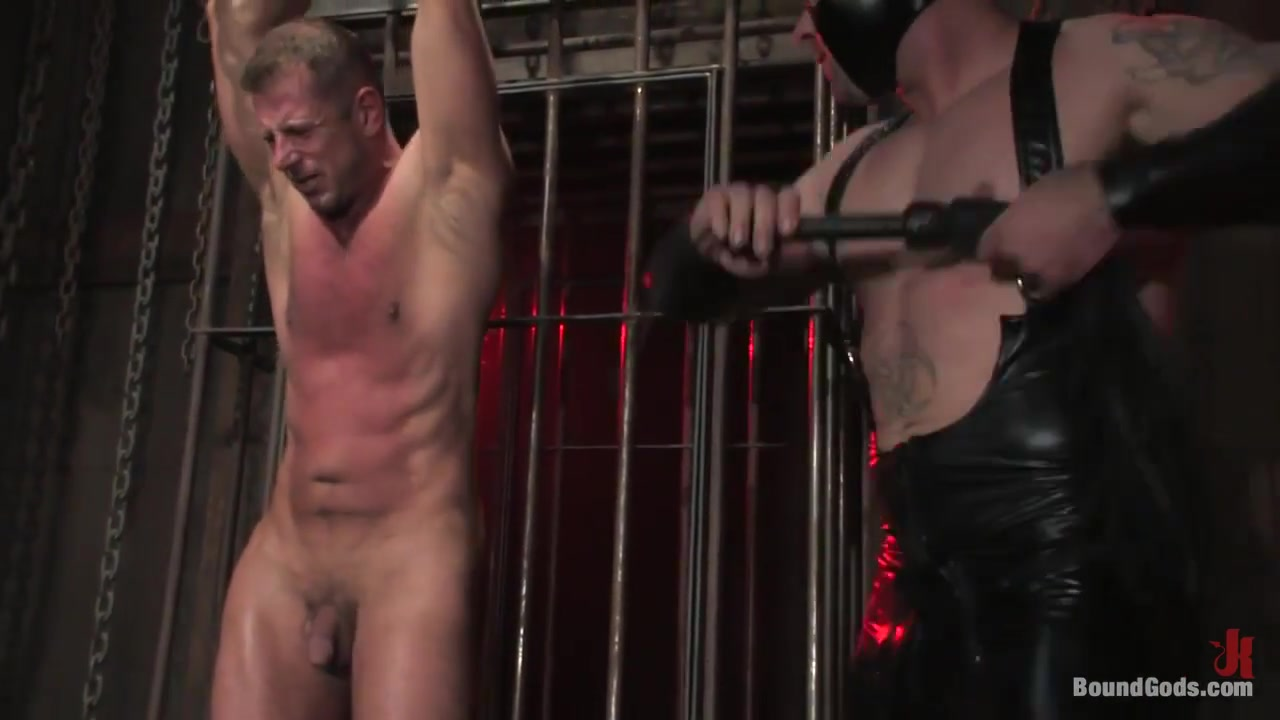 BoundGods : Slicked Up Dak Ramsey Tens Unit Facial