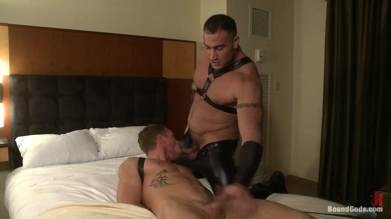 BoundGods : THe Hotel Hookup bent over pussy view