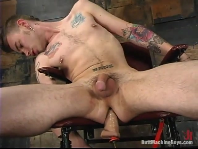 ButtMachineBoys: Richie Rennt Hot real tits nude