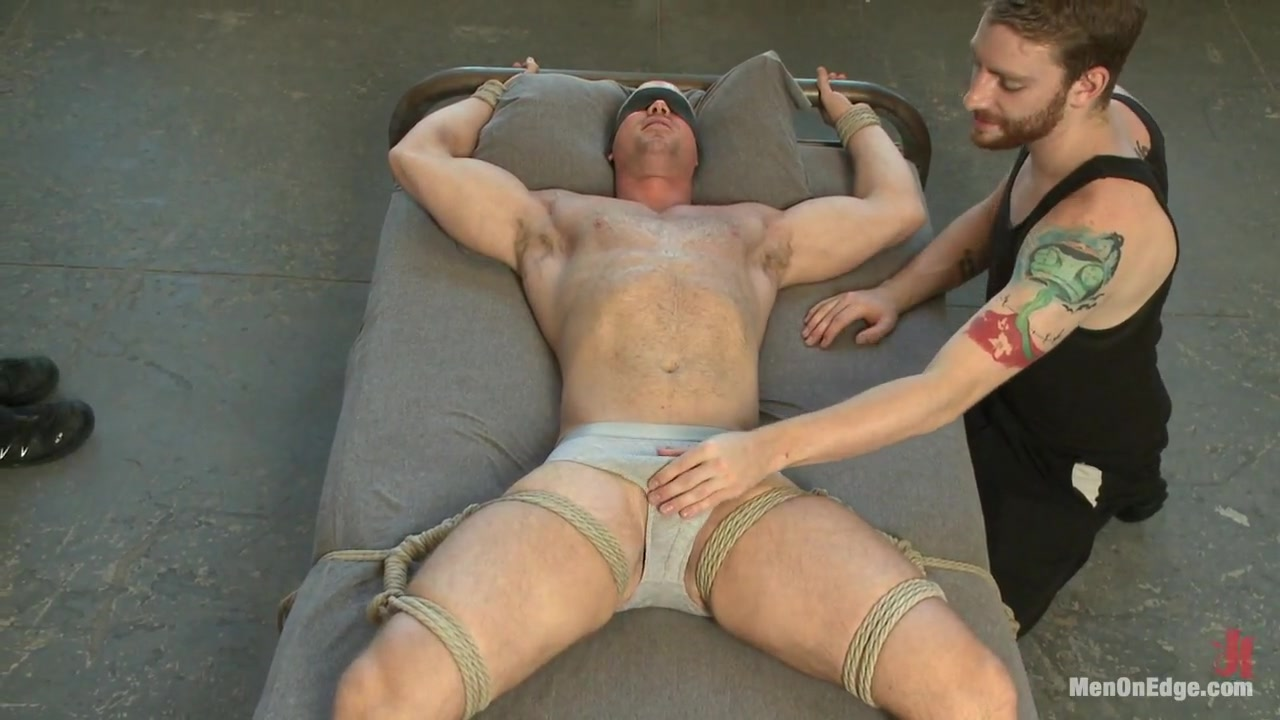 Bodybuilder gets edged by a guy for the first time Best romantic porno