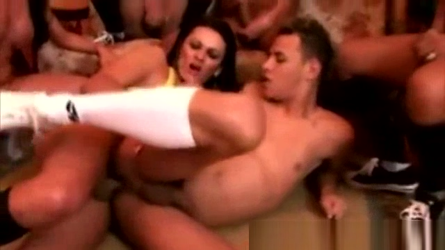 One man And A bunch Of sheboys fuckfest nude very short women