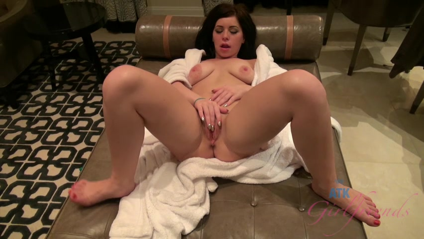 ATKGirlfriends video: Belle Noire let you watch as she gets naked Hot Girls FroThe Midwest