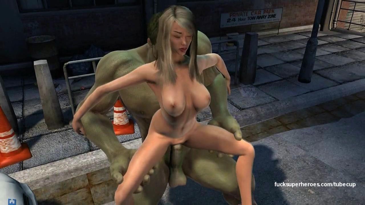 Hulk 3 Hot Blonde Hardcore Fuck