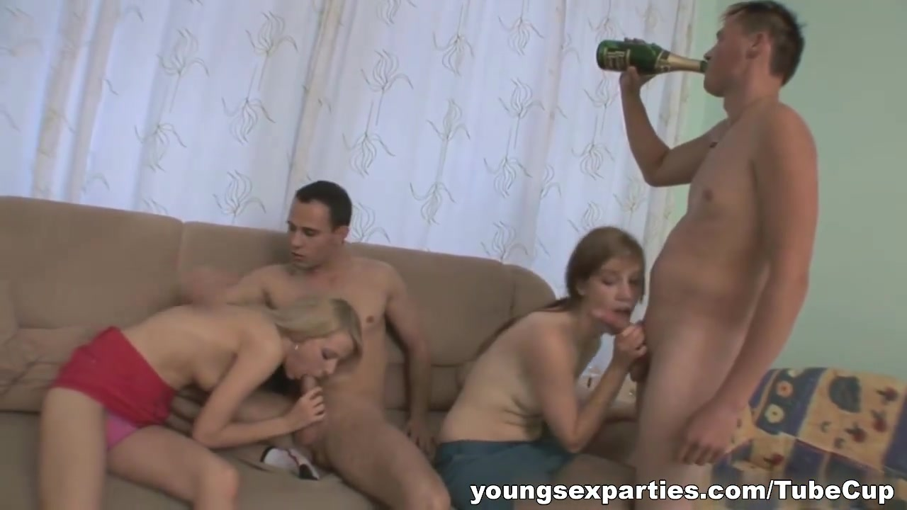 Welcoming sex party Young with big bulge