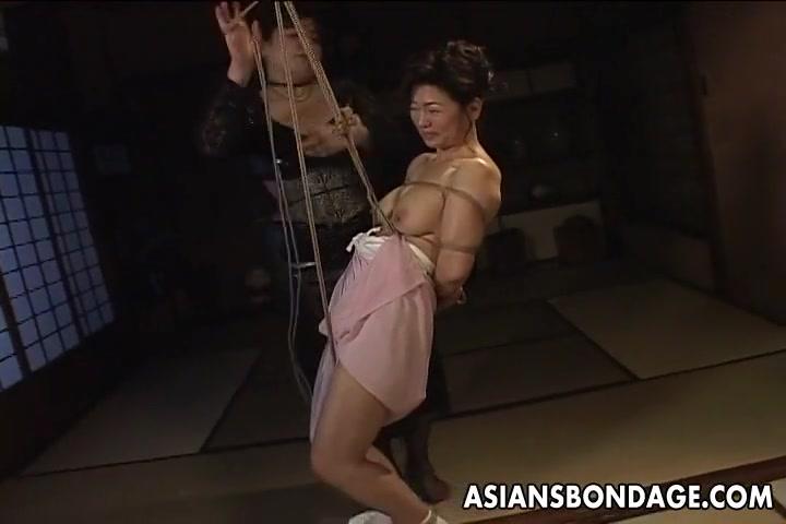 Asian rope bdsm