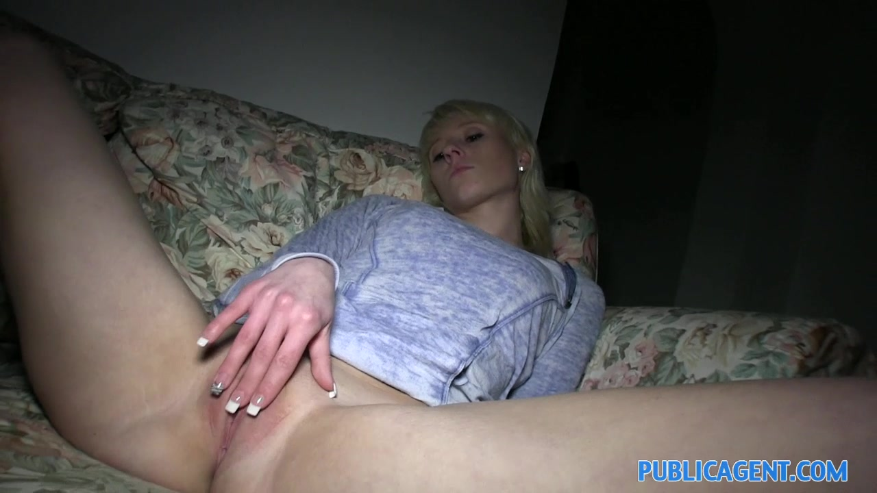 PublicAgent: Blonde Lauras ass gets covered in my cum Friend hiding to fuck wife