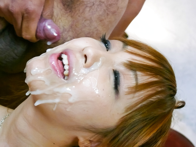 Anri Hoshizaki splashed with cum - More at Slurpjp.com Chubby babe free movie