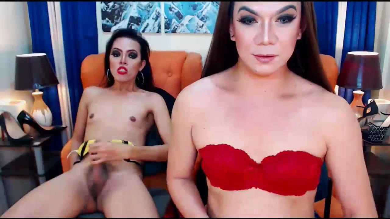 Horny Tranny Masturbates with Her Friend John ritter dick