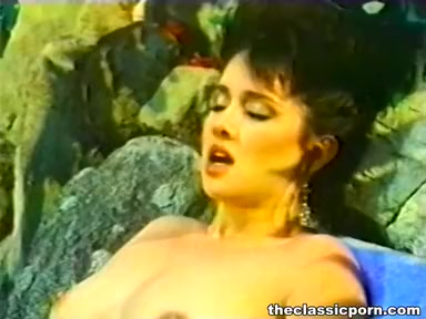 Slow dildo sex as the spa procedure