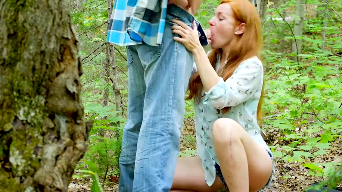 Facial outdoors Licking pussy gif