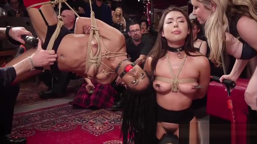 Electro shockings and waxing bdsm orgy Domination creampie stories