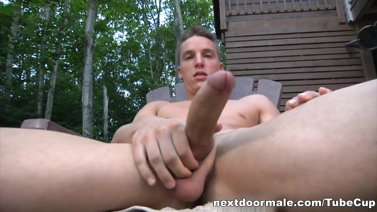 NextdoorMale Video: Samuel Smith Girl sitting leather pants