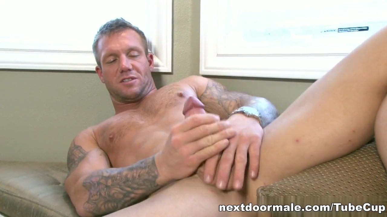NextdoorMale Video: Bo Dean pretty cameltoe masturbating and squirt