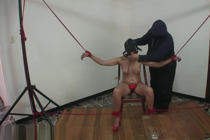 Bondage Training Week - Day 2 - Hour 16 Cfnm ladies get cumshot
