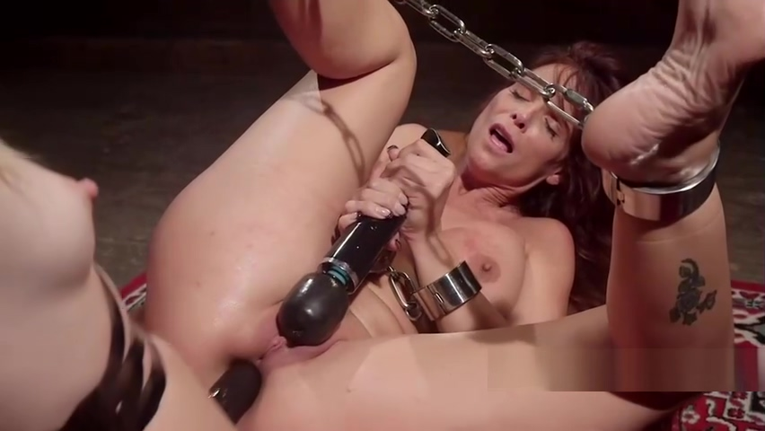 Bound redhead lesbian fisted and anal fucked Dine dating app