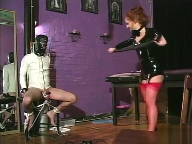 Fabulous xxx clip Red Head great pretty one Interracial Lesbian Domination