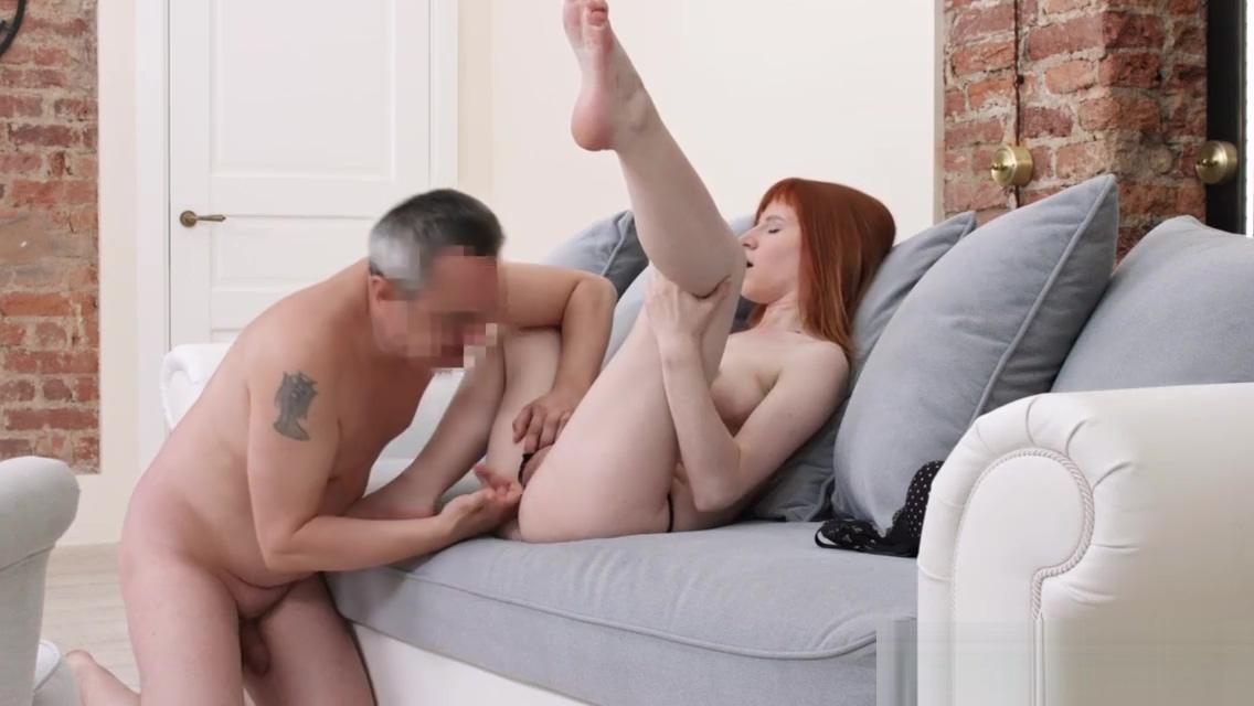 Redhead newbie banged on leaked sextape Mature Japanese Lesbian Vacation