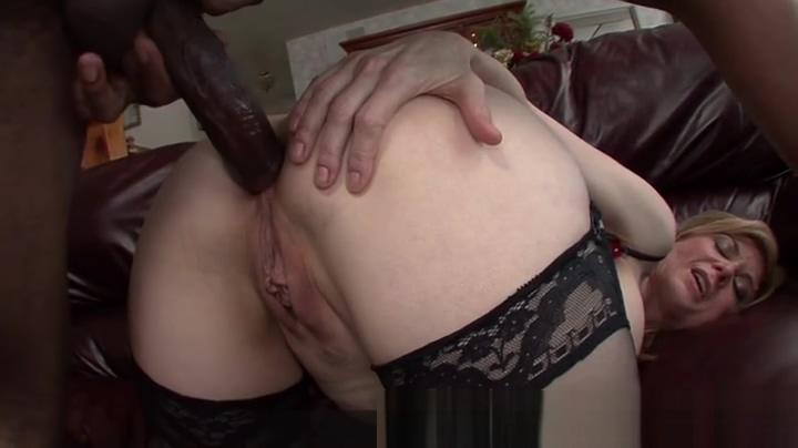 Honey Nina Hartley performin in interracial porn movie Hairy mature bbw pussy