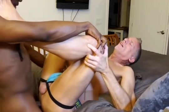 Hung Black Thug For Daddy Guy fucks his wife in ass while he watch