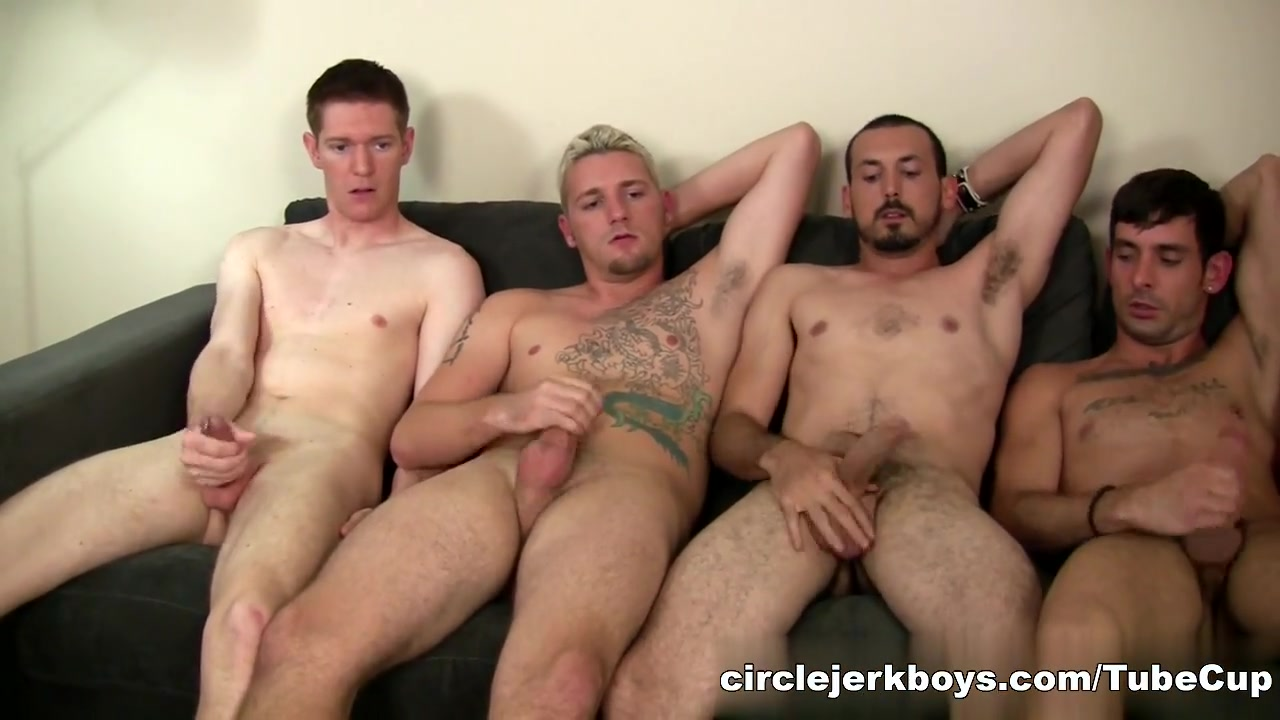 CircleJerkBoys Video: Glazed Muffin Horny orgy porn gifs