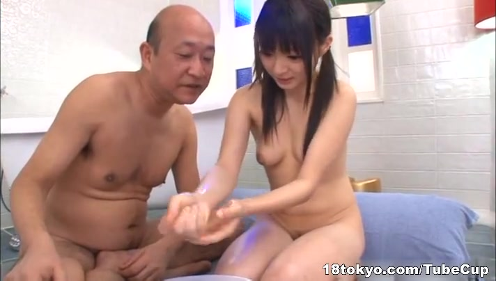 old men young asian girls