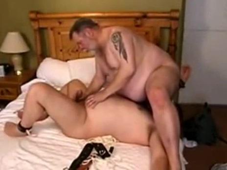 Amateur fatty bondage and oral 70s porn star mustache