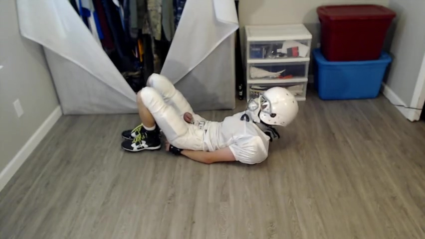 Football Player Chase Tied Up and Chastity Dating site raya net website