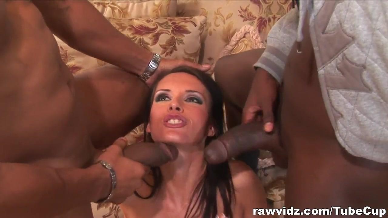RawVidz Video: Brunette enjoys interracial dp the skinny nudes website
