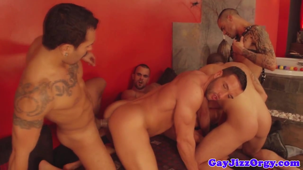 Gay orgy with loving hunks Nude sex full video