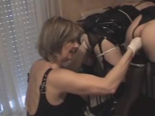 Lesbians orgy Spanking pornos