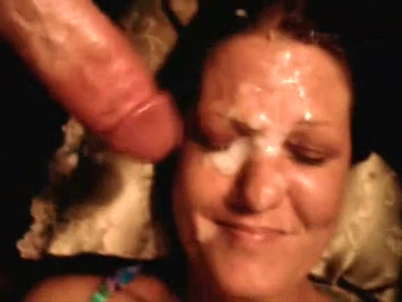 I poured out all my jizz on her sexy amateur face Multiple guys girl cum