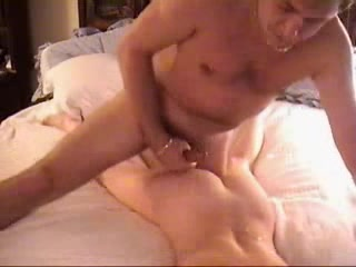 Amateur blonde woman wanted to be fucked from behind
