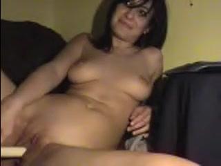 Incredible amateur slut with plump tits toys her holes Chelsea ferguson nude boobs