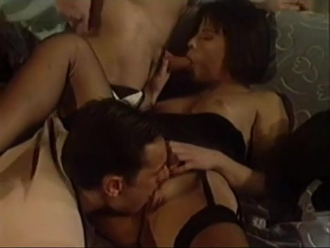Astonishing porn clip Double Penetration check will enslaves your mind closeup gangbang creampies movies